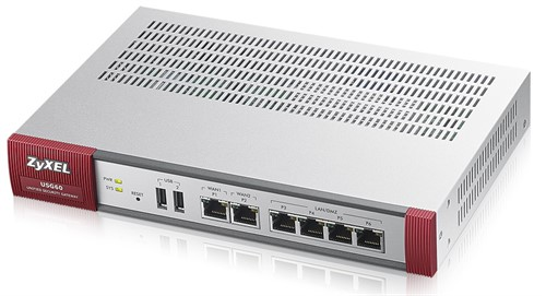 ZyXEL USG60 UTM hardware firewall