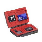 Gepe 3864 memory card case 4 cards