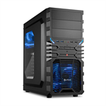 Sharkoon VG4-W Midi-Tower Black computer case