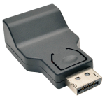 Tripp Lite DisplayPort 1.2 to VGA Active Compact Adapter Converter (DP-Male to VGA-Female)