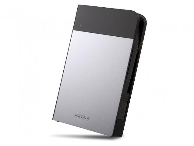 Buffalo MiniStation Extreme USB 3.0 1TB external hard drive 1000 GB Black,Silver