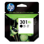 HP 301XL Black Ink Cartridge Origineel Zwart
