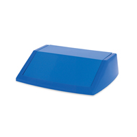 ADDIS 60L FLIPTOP BIN LID BLUE