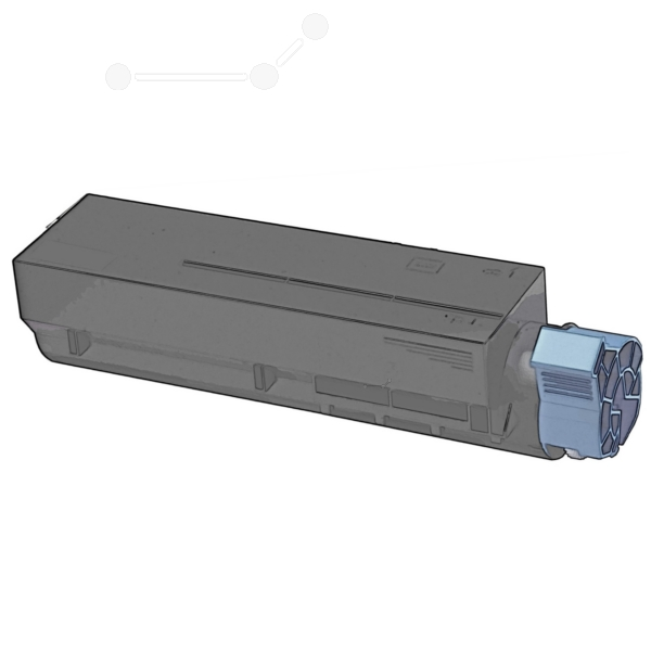KATUN 44190 COMPATIBLE TONER BLACK, 3K PAGES (REPLACES OKI 44574702)