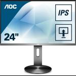 "AOC Gaming I2490PXQU/BT computer monitor 60,5 cm (23.8"") 1920 x 1080 Pixels Full HD LED Grijs"