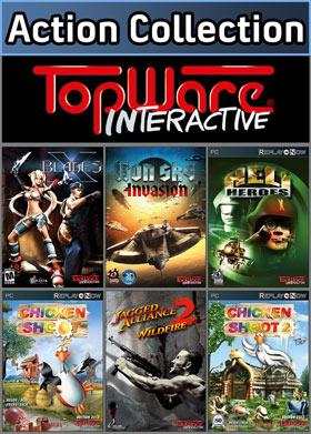 Nexway TopWare Action Collection vídeo juego PC Coleccionistas Español