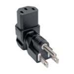 Tripp Lite P006-000-DA power plug adapter NEMA 5-15P C13 Black