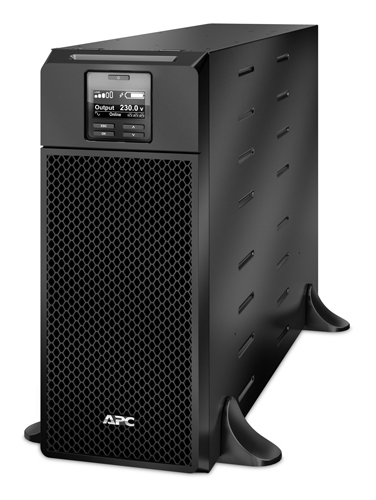 APC Smart-UPS On-Line Double-conversion (Online) 6000VA 10AC outlet(s) Rackmount/Tower Black uninterruptible power supply (UPS)