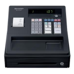 Sharp XE-A107BK cash register