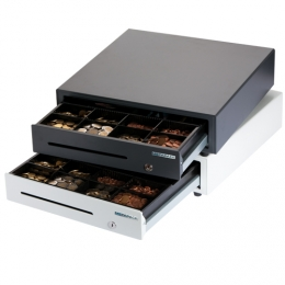 Professional Cash Drawer K-1 White Glossy