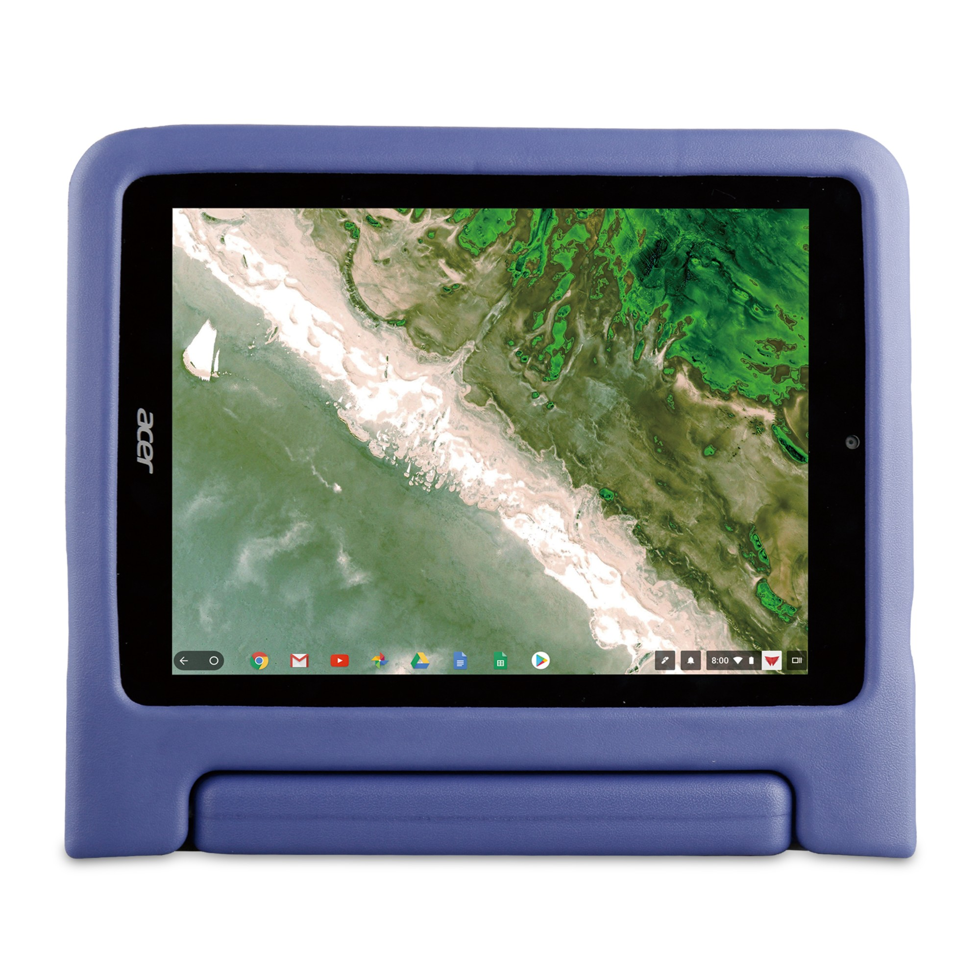 "Acer HP.ACBST.030 tablet case 24.6 cm (9.7"") Cover Blue"