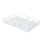 Leitz 52150002 desk drawer organizer Transparent