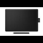 Wacom One by Medium graphic tablet Black 2540 lpi 216 x 135 mm USB