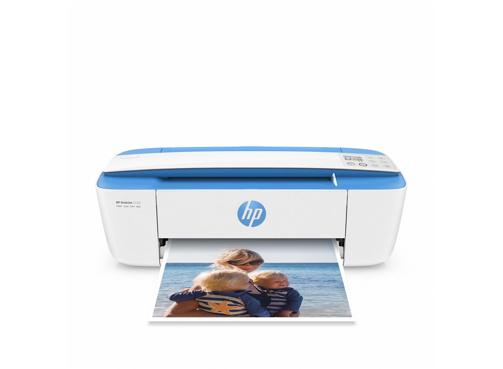 HP DeskJet 3720 AiO 4800 x 1200DPI Thermal Inkjet A4 8ppm Wi-Fi Blue,White