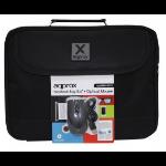 "Approx APPNBBUNDLE2 15.6"" Notebook briefcase Black notebook case"