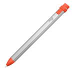 Logitech CRAYON stylus pen Orange,Silver 0.705 oz (20 g)