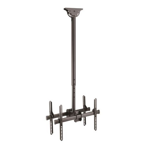 StarTech.com Ceiling TV Mount for Back-to-Back Displays - 3.5' to 5' Pole