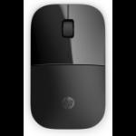 HP Z3700 Black Wireless mouse Ambidextrous RF Wireless Optical 1200 DPI