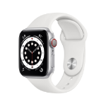 Apple Watch Series 6 OLED 40 mm Plata 4G GPS (satélite)