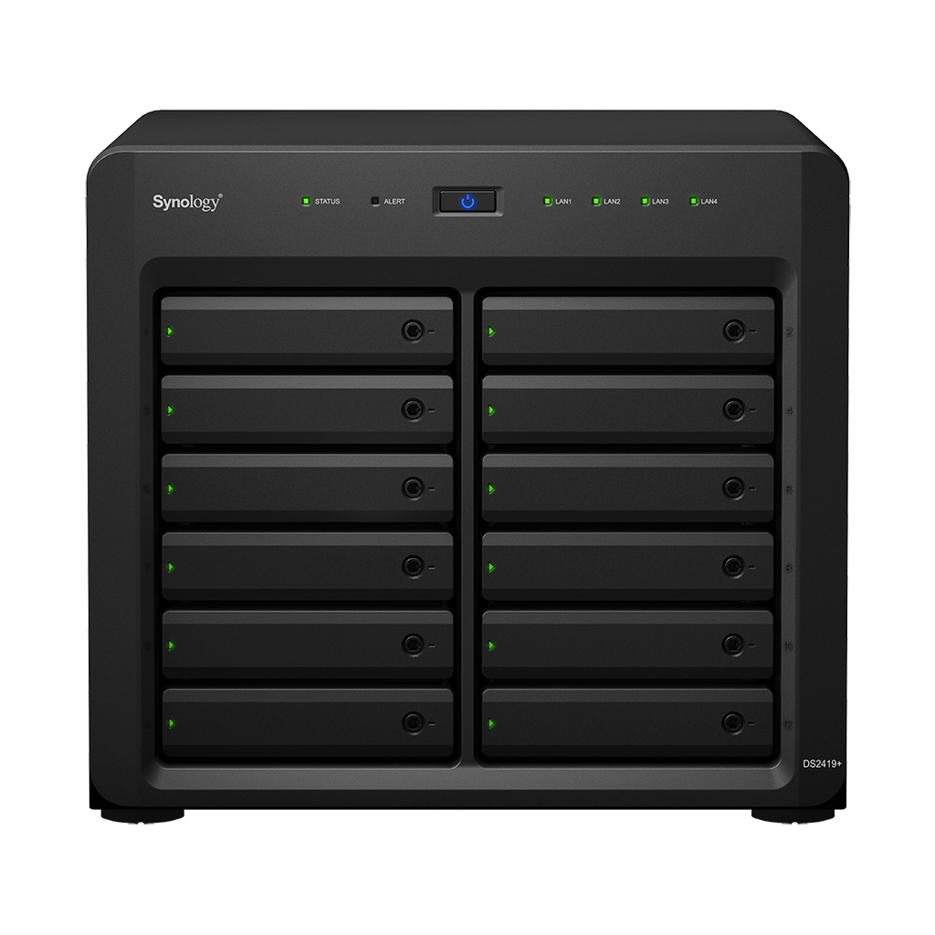 Synology DiskStation DS2419+ servidor de almacenamiento C3538 Ethernet Tower Negro NAS