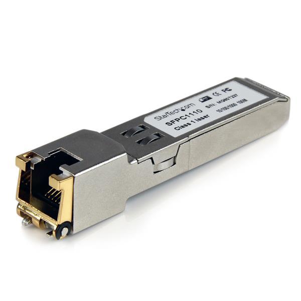 StarTech.com Cisco SFP-GE-T Compatible SFP Transceiver Module - 1000BASE-T network transceiver module