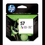 HP 57 Original Cyaan, Magenta, Geel 1 stuk(s)