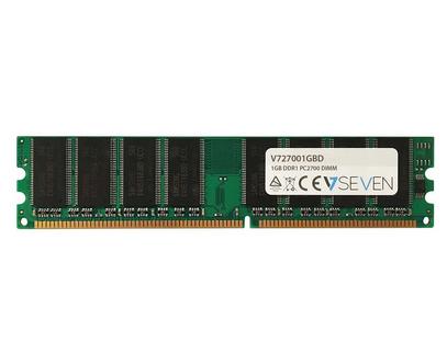 V7 1GB DDR1 PC2700 - 333Mhz DIMM Desktop módulo de memoria - V727001GBD