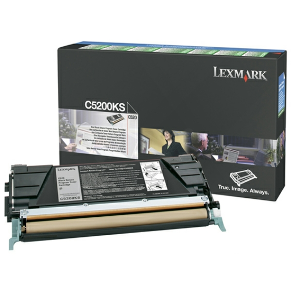 Lexmark C5200KS Toner black, 1.5K pages @ 5% coverage