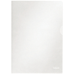 Esselte Standard Folders Transparent A4