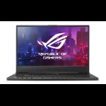 """ASUS ROG GX701LXS-HG032T Notebook Black 43.9 cm (17.3"""") 1920 x 1080 pixels 10th gen Intel® Core™ i7 32 GB DDR4-SDRAM 1000 GB SSD NVIDIA GeForce RTX 2080 SUPER Wi-Fi 6 (802.11ax) Windows 10 Home"""