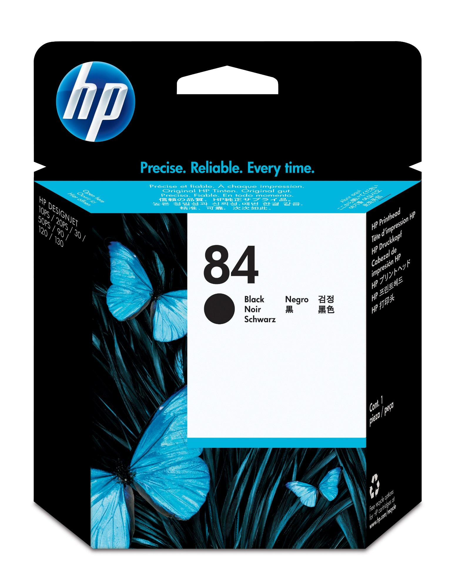 HP 84 Black DesignJet Printhead print head
