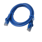 8WARE Cat6a UTP Ethernet Cable 1m Snagless Blue