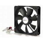 Supermicro PWM Fan Computer behuizing Ventilator 12 cm Zwart