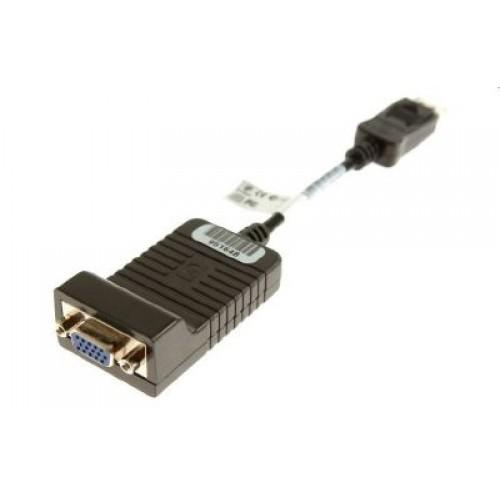 HP 603250-001 video cable adapter 0.2 m DisplayPort VGA (D-Sub) Black