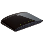D-Link DES-1005D Unmanaged Fast Ethernet (10/100) Black