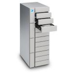 LaCie 96TB 12big Thunderbolt 3 96000GB Desktop Silver disk array