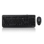 Adesso AKB-132CB-UK keyboard RF Wireless + USB QWERTY UK English Black