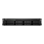 Synology RackStation RS1221RP+ NAS/storage server Rack (2U) Ethernet LAN Black V1500B