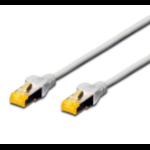 FDL 1M CAT.6a 10Gb S-FTP LSZH PATCH CABLE - WHITE