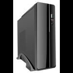 CIT S003B Black Slim Micro ATX or Mini ITX Case Built-in Card-Reader 300W PSU
