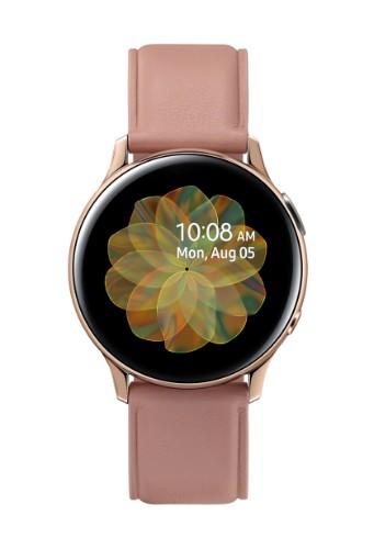 """Samsung Galaxy Watch Active 2 smartwatch SAMOLED 3.02 cm (1.19"""") Gold 4G GPS (satellite)"""