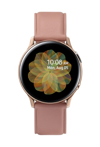 "Samsung Galaxy Watch Active 2 smartwatch Gold SAMOLED 3.02 cm (1.19"") Cellular GPS (satellite)"