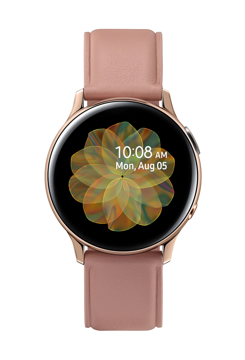 Samsung Galaxy Watch Active 2 smartwatch Gold SAMOLED 3.02 cm (1.19