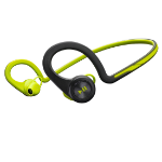 Plantronics BackBeat FIT Neck-band Bluetooth Black,Green mobile headset