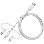 OtterBox Cable Mid-Tier MFI USB Kabel 1 m USB 2.0 USB A Micro-USB B Weiß