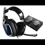ASTRO Gaming A40 TR + MixAmp Pro TR Headset Head-band Schwarz, Blau