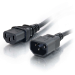 C2G Alargo de cable de alimentación de ordenador de 5 m 18 AWG (IEC320C13 a IEC320C14)