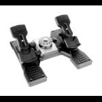 Logitech G G Saitek PRO Flight Rudder Pedals Black, Silver USB 2.0 Analogue PC