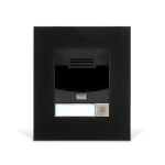 2N Telecommunications 9155301CBF video intercom system Black