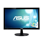 "ASUS VS207D-P 19.5"" HD Black computer monitor LED display"